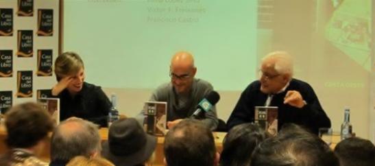 Inma L. Silva, Francisco Castro e Víctor F. Freixanes