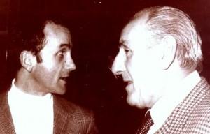 Á esquerda Luís Mera e á dereita Manuel Lueiro (foto Luís Mera)