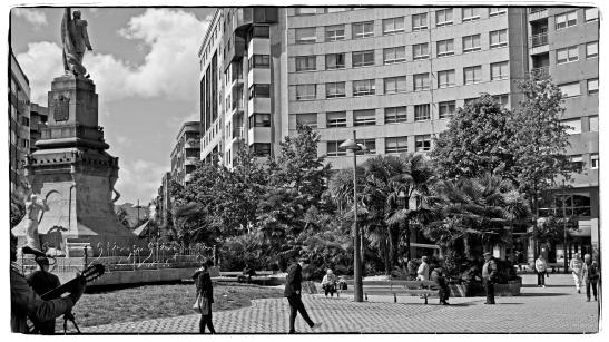 Praza da Independencia (Vigo). Fotografía: Anxo Cabada.